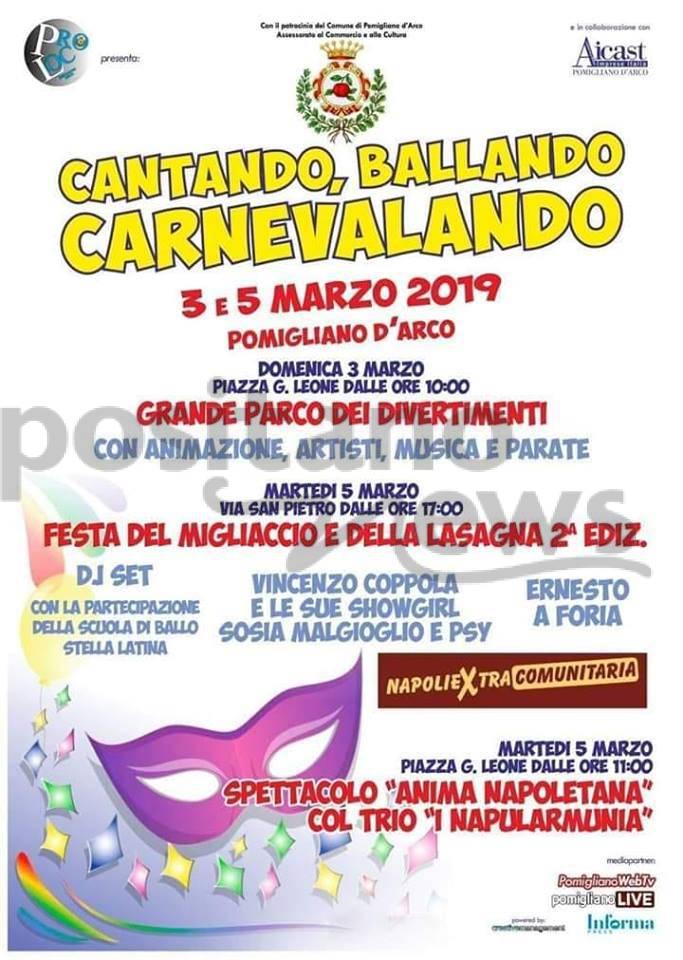 """Cantando, Ballando, Carnevalando con """"I Napularmunia"""""""