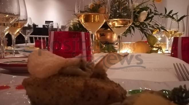 Cena e festeggiamenti delle 5 stelle lusso per l'Hotel Convento di Amalfi