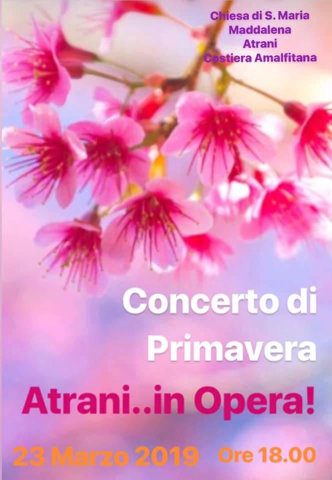 concerto di primavera ad atrani