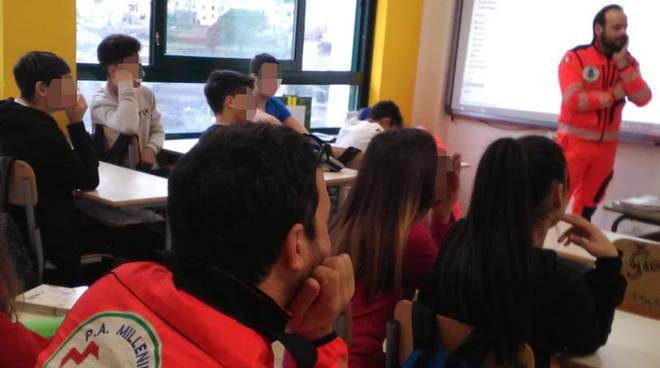 conclusione progetto protezione civile con le scuole