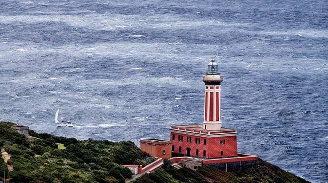 Faro di Punta Carena ad Anacapri