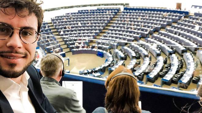 Francopio Pellegrino Maiori Parlamento Europeo Strasburgo Antonio Tajani Manfred Weber Fulvio Martusciello