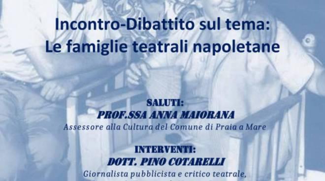 Locandina - Le Famiglie Teatrali Napoletane