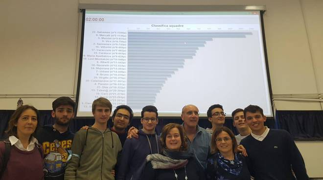 olimpiadi di matematica liceo salvemini