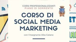 primo corso di marketing a piano