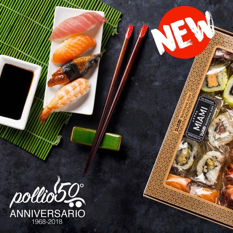 sushi pollio
