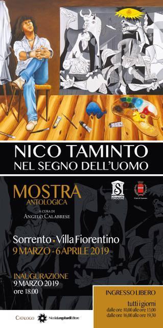 Villa Fiorentino ospita la mostra antologica di Nico Taminto