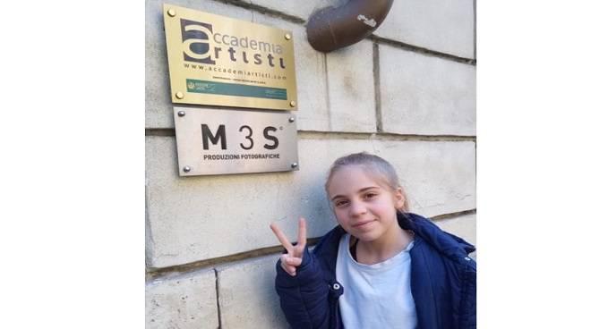 aurora di leva piccola attrice di soli 12 anni