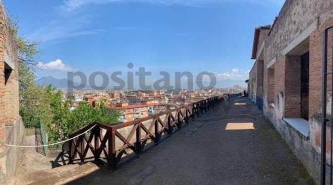 Riapre Villa Arianna a Castellammare