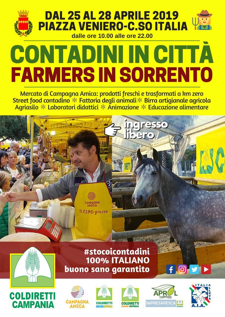 contadini in città