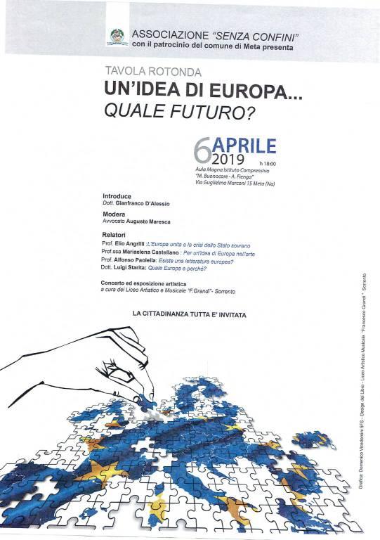 evento a meta tavola rotonda Un'idea di Europa.. Quale futuro?