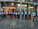 flash mob dei volontari wwf per la salvaguardia della biodiversità