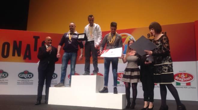 Giuseppe Amendola pizzaiolo più veloce al mondo 2019