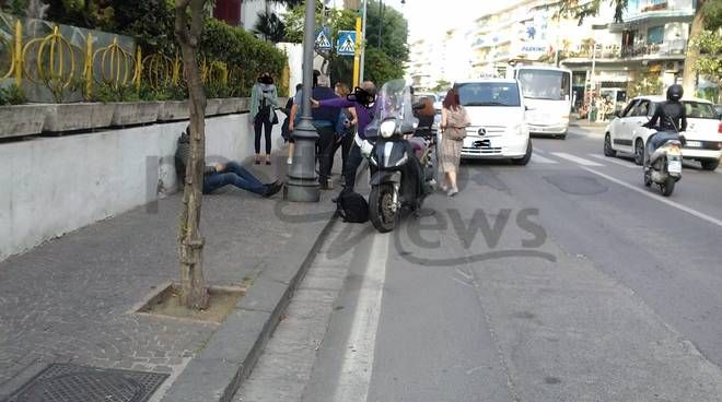 incidente in via degli aranci