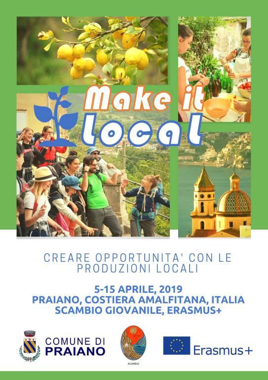 Make it Local: a Praiano trenta Erasmus per valorizzare le produzioni locali