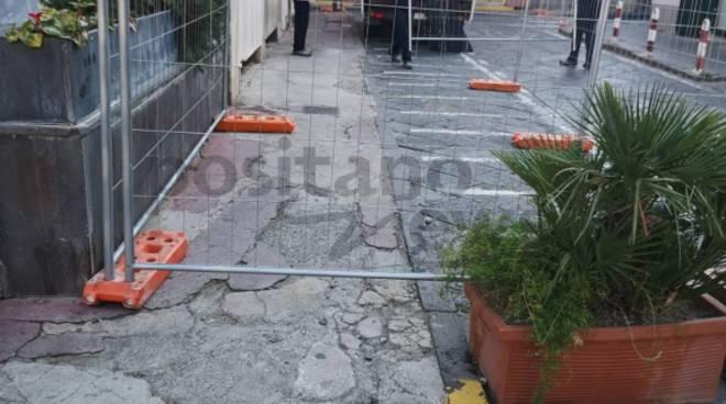 Piano di Sorrento: Cominciano i lavori a piazza Cota