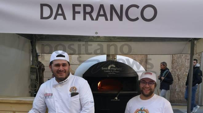 pizzeria  da franco a pizza a vico