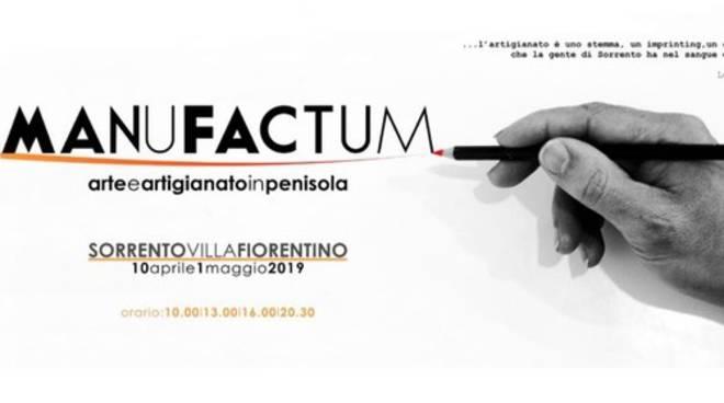 "Sorrento. A Villa Fiorentino ""Manu Factum"""