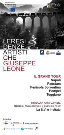 Al museo Correale di Sorrento per la prima volta il fotografo Giuseppe Leone