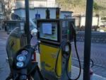 Benzina stazione a Positano