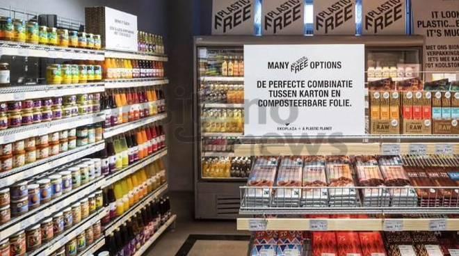 Il primo Supermercato al mondo senza la plastica  apre ad Amsterdam