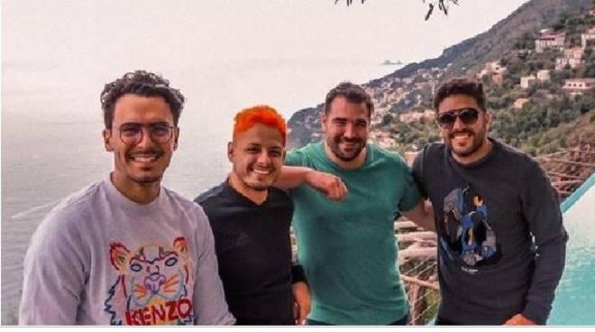 Chicarito Hernandez ad Amalfi