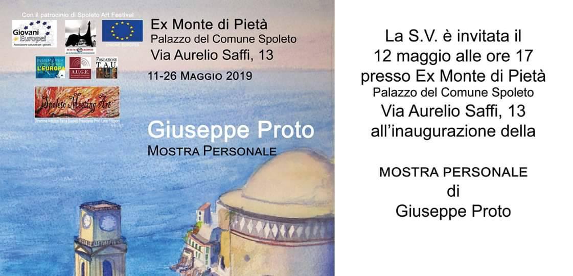 Il minorese  Giuseppe Proto al Menotti Art Festival di Spoleto