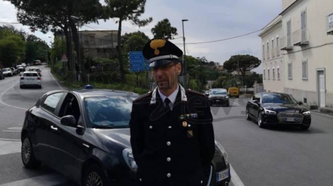 Piano di Sorrento. Carabinieri ai Colli di San Pietro