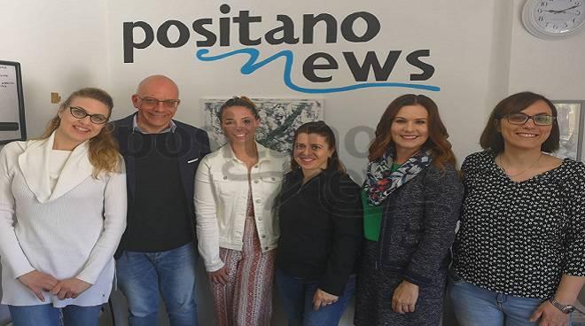 Positanonews stage giornalista usa Lauren