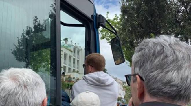 Ravello file per gli autobus della SITA