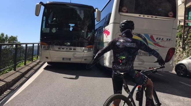 traffico costa d'amalfi