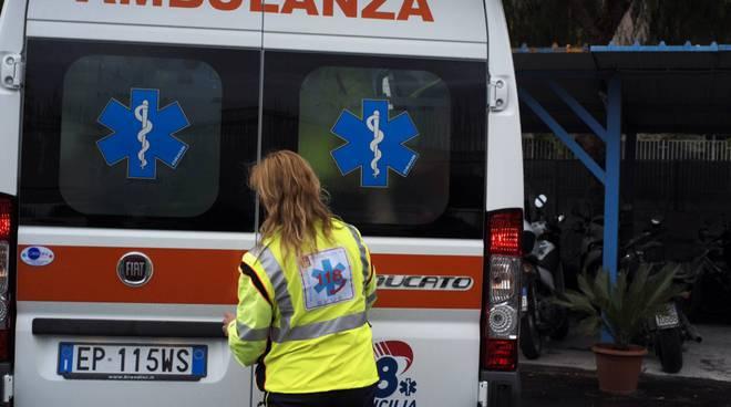 Amalfi ambulanza