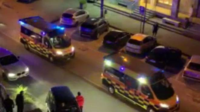 Ambulanze corte per Alfieri