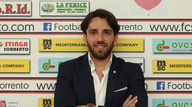 Antonio Amodio DS Sorrento Calcio
