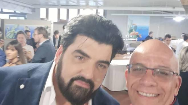 Cannavacciuolo con Michele Cinque Positanonews a Vico Equense