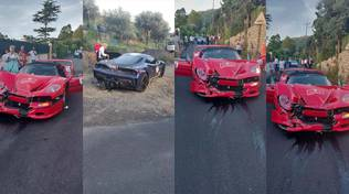 Capri incidente clfra Ferrari