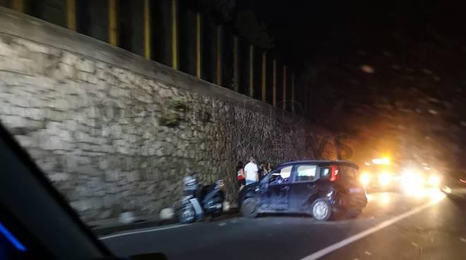 incidente a pozzano