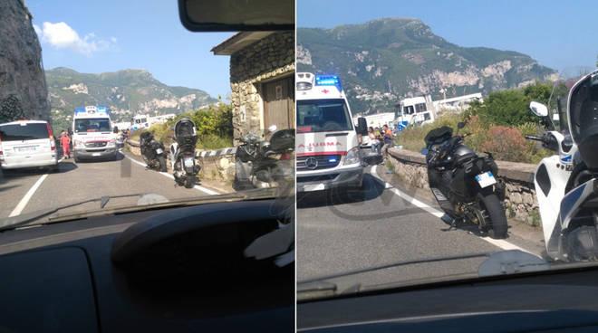 Incidente stradale alla Garitta