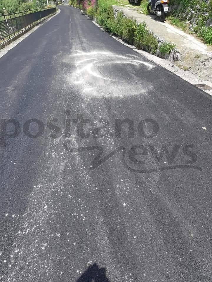 lavori di asfaltazione Montepertuso