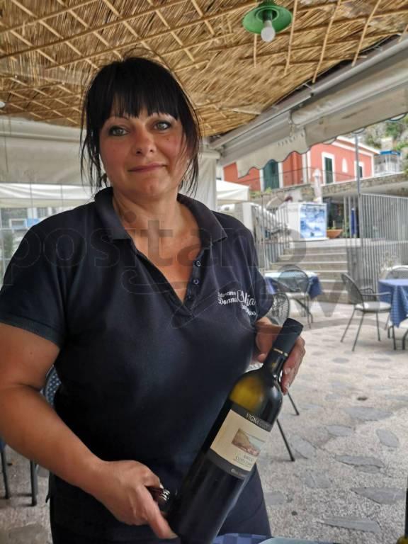 Praiano, Ristorante Donna Clelia