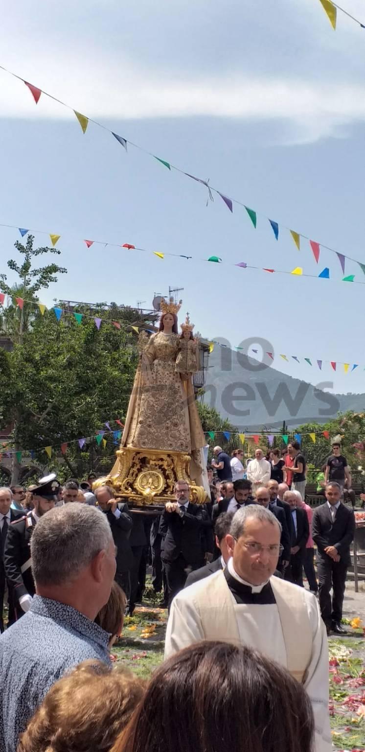 Santa Maria a Cheia processione