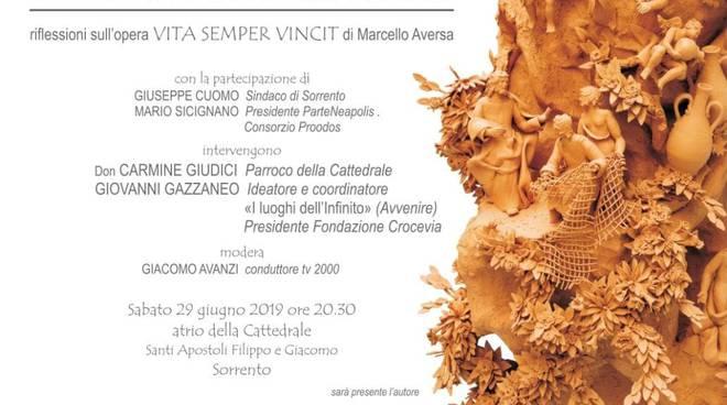 Un incontro sull'arte di Marcello Aversa