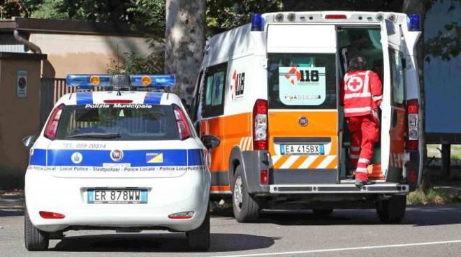 ambulanza e vigili