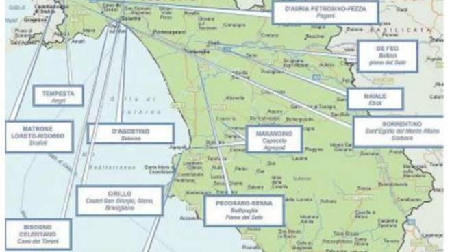 Cartina Costiera Amalfitana E Capri.La Mappa Della Camorra In Provincia Di Salerno Tocca Anche Le Coste D Amalfi E Il Cilento Positanonews