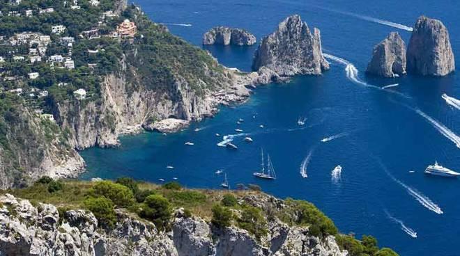 Capri località turistica più esclusiva