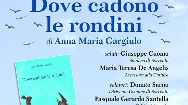 Dove cadono le rondini di Anna Maria Gargiulo. Recensione di Carlo Alfaro
