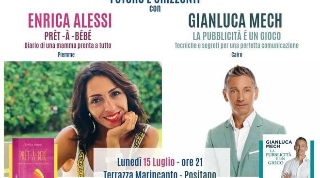 Enrica Alessi e Gianluca Mech ospiti della serata conclusiva della rassegna letteraria