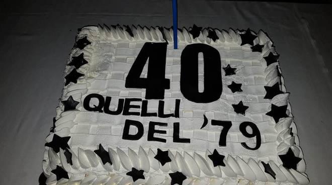 festa dei 40 anni a villa treville