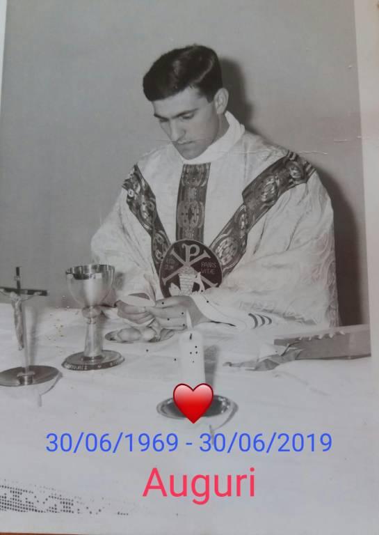 Auguri Don Giulio 50 Anni Di Sacerdozio Positano E Minori