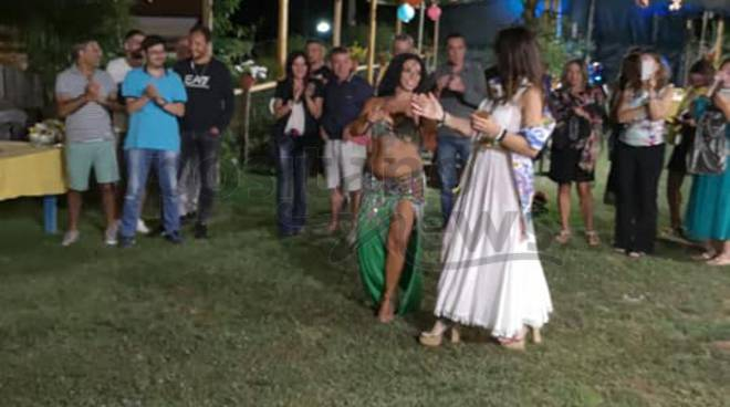 Piano di Sorrento: Buon Compleanno Paola! Una super festa nel giardino di Zio Sam